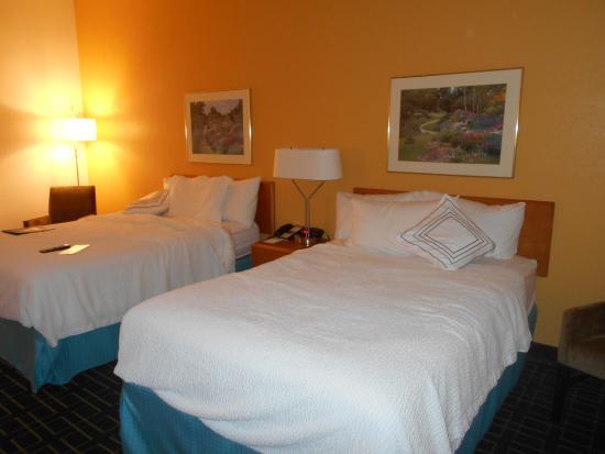 Fairfield Inn & Suites Lexington Berea: Room at the Fairfield Inn, Berea, Ky, USA