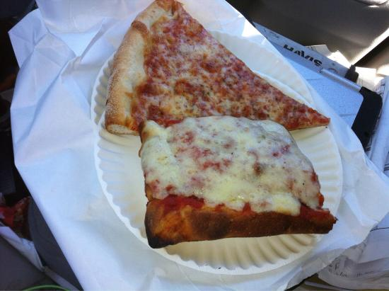 Wainscott, Νέα Υόρκη: what a dump, gourmet prices and ghetto pizza