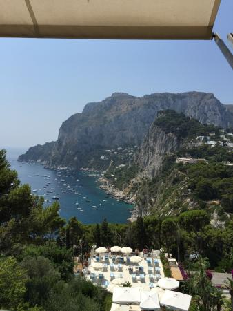 Villa Brunella: view from Hotel