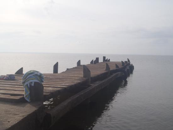 Pearl Lagoon, Nicaragua: our Comunity Dock.
