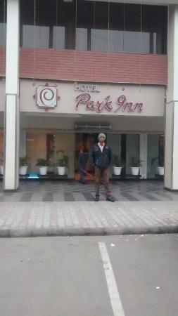 Hotel Park Inn: Main Entrance!