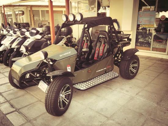 Joyner 800cc - Picture of Moto Service Rentals, Kos Town