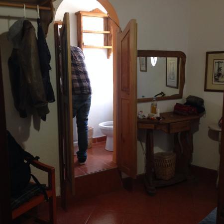 Casa de la luna : ダブルベット1台部屋 トイレ
