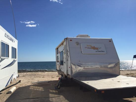 Our View Picture Of The Reef Rv Park Puerto Penasco