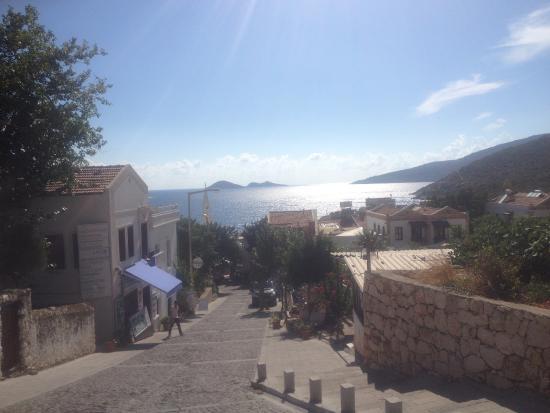 Samira Resort: View across the bay