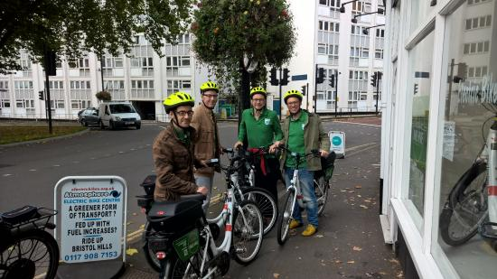 Bristol Electric Bike Hire