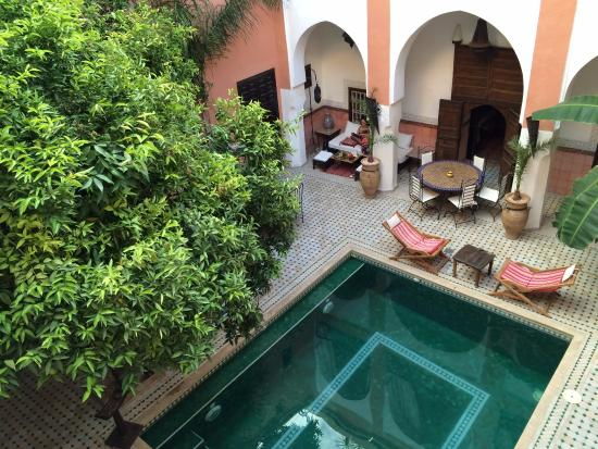 Riad Barroko: Main Courtyard
