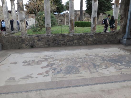 Il mosaico della battaglia di isso foto di casa del for Foto di decorazione della casa del cottage