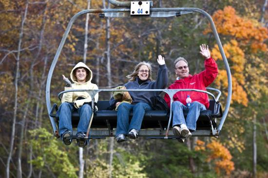 Palmerton, PA: Touch the Sky! Scenic Lift Rides to PA's Highest Vertical!