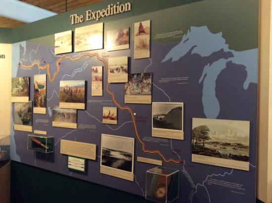 National Frontier Trails Museum: Expeditionary route