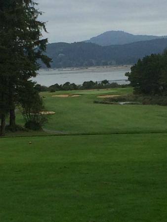 Salishan Lodge and Golf Resort Spa: Back nine fairway view
