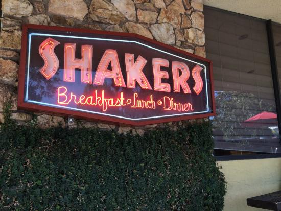 South Pasadena, CA: Shaker's Restaurant