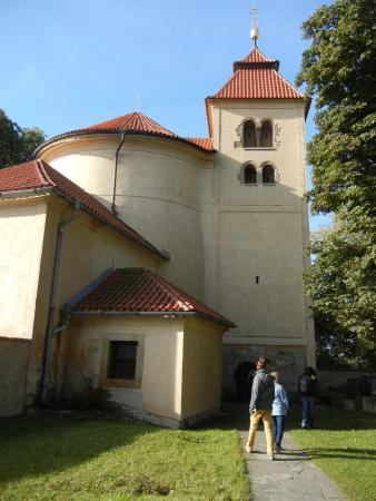 Rotunda-Church of St Peter and Pavel at Budec Near Zakolany