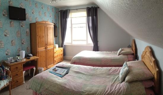 Plas Llwyd: Our room
