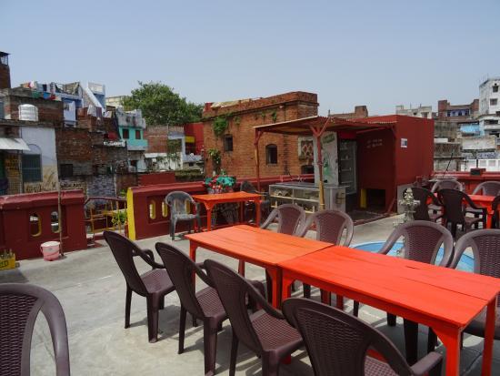 terrazza sul tetto - Picture of Ganpati Guest House, Varanasi ...