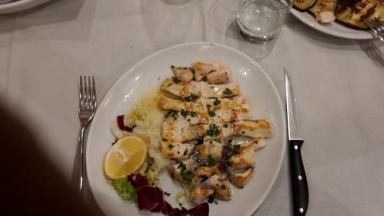 L'Escalier: Un delizioso piatto di pesce