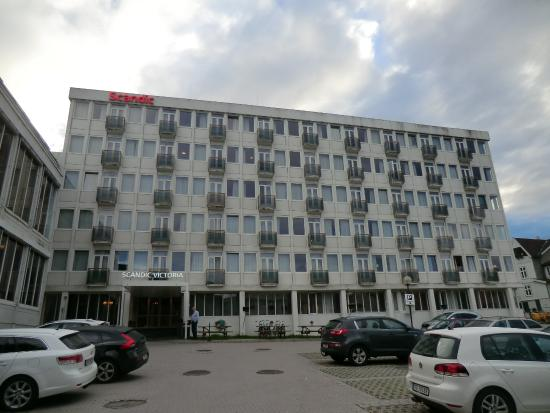Helt nye Front of Hotel - Picture of Scandic Victoria Lillehammer JT-98