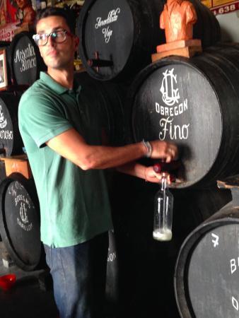 La Fonda Barranco: Sherry!!!! (ok this is actually in Puerto de Santa Maria - but just around the corner from Jerez