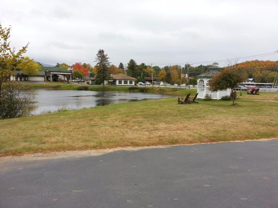 SaraPlacid Inn & Suites: view of pond from room