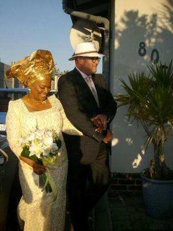 Guguletu, Sudáfrica: Laura's wedding day