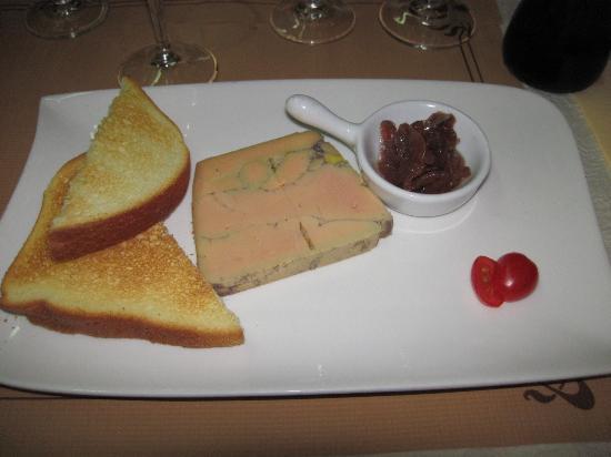 Les Tuffeaux : Foie gras maison