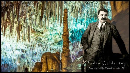 Cuevas dels Hams: Pedro Caldentey, discoverer of the Hams Caves