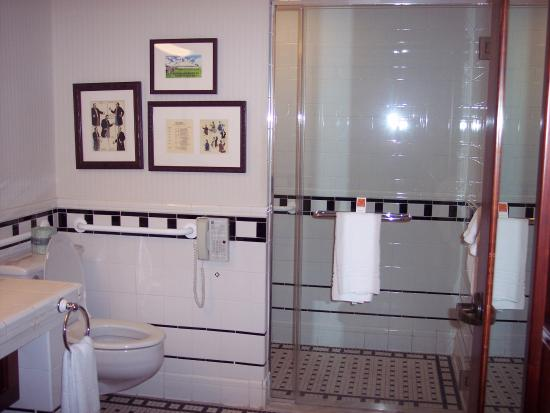 Perry, IA: huge bathroom in Chautauqua room