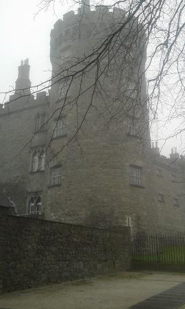 Kilkenny Castle in February Fog!
