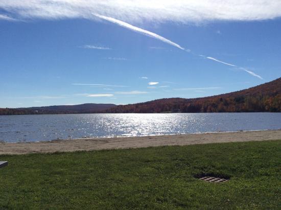 Elmore, VT: Automne sur le lac