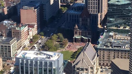 Charlesmark Hotel: Copley Square from above