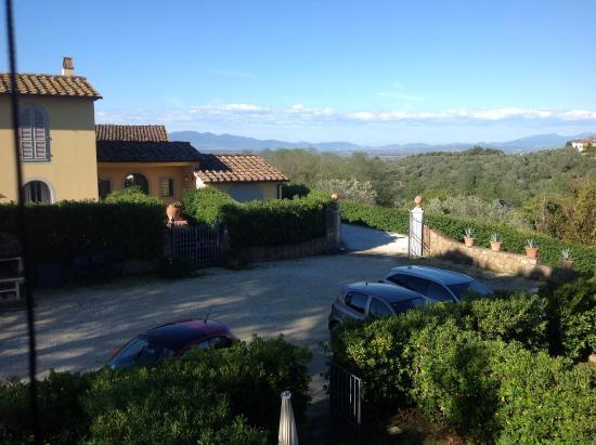 Agriturismo Borgo Casorelle: Vue etage