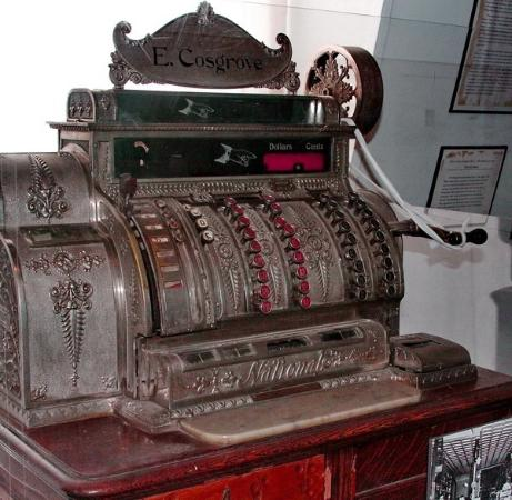 Silver City Museum : Early cash register