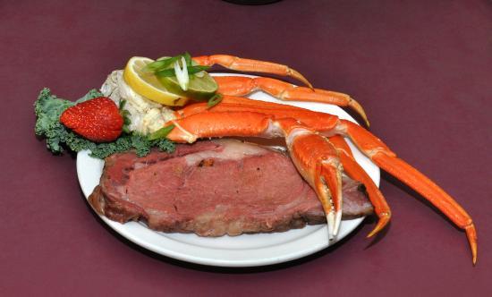 First Gold Hotel: USDA Choice Prime Rib & Crab every Fri. & Sat. Night