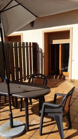 Hotel Sorrosal : Terraza de la habitación