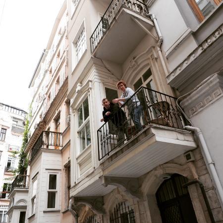 Easy Home Istanbul : балкон