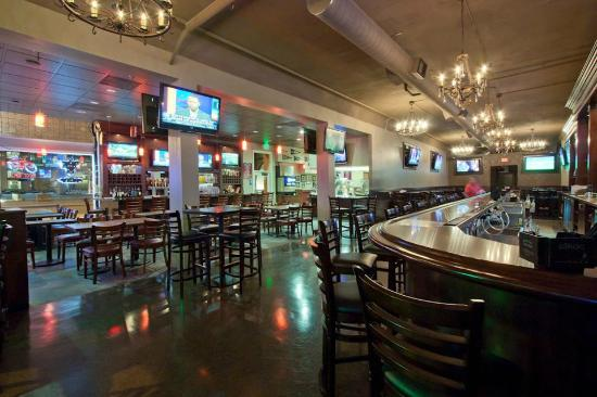 4th Street Pizza Company: View of our Sports Bar & Restaurant.