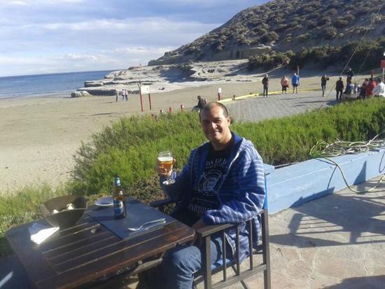 Las Restingas Hotel de Mar: Terminando de almorzar