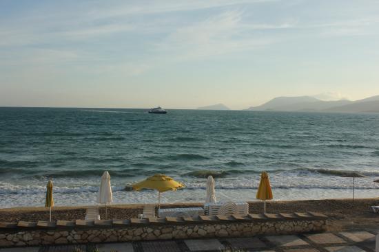 Tasucu, تركيا: View from the balcony