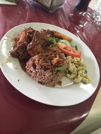 Authentic jamaican food at black star line restuarant for Authentic jamaican cuisine