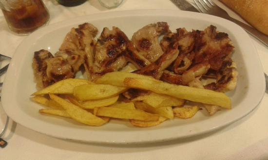 La Puebla: Chuletillas de lechal