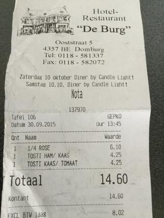 Hotel-Restaurantd de Burg