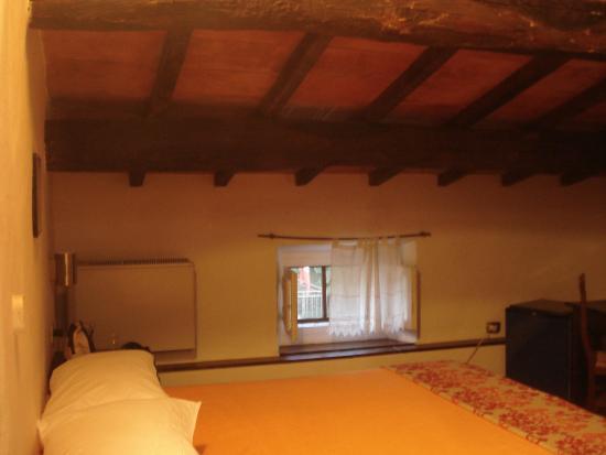 B&B il Giardino Etrusco: camera in mansarda