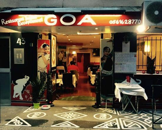 L 39 exterieur photo de restaurant goa toulouse tripadvisor for Exterieur restaurant