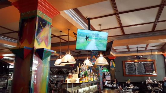 Tvs In Fine Dining Rest Perfect Picture Of Market