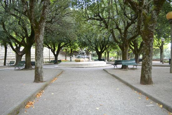 Casa Chilenne B&B : Cortona's park and walkway