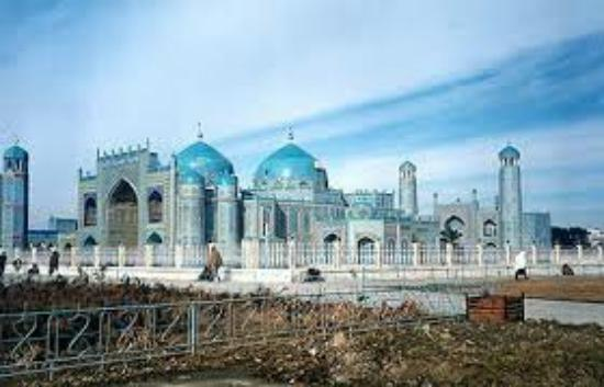 Mazar-i-Sharif, Afghanistan: Blue Mosque