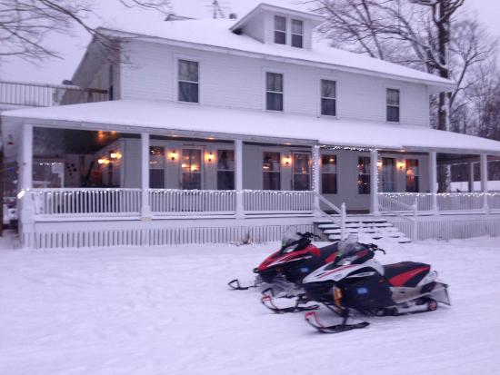 Curtis, MI: Great stop on a Sled !