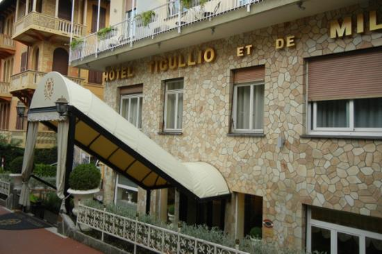 Hotel Tigullio et de Milan : Hotel is well located for town and transportation.