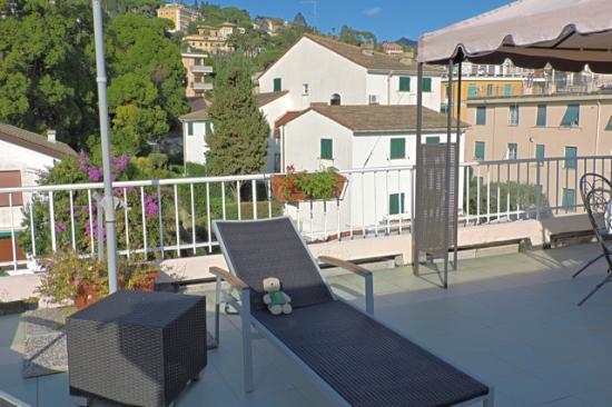 Hotel Tigullio et de Milan : Rooftop provides sundeck but not spectacular views.