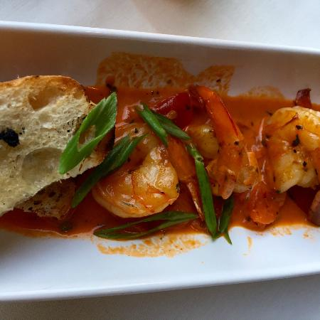 Oceano Bistro: shrimp appetizer